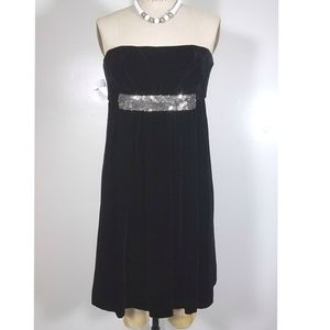 NWT Vera Wang velvet party dress
